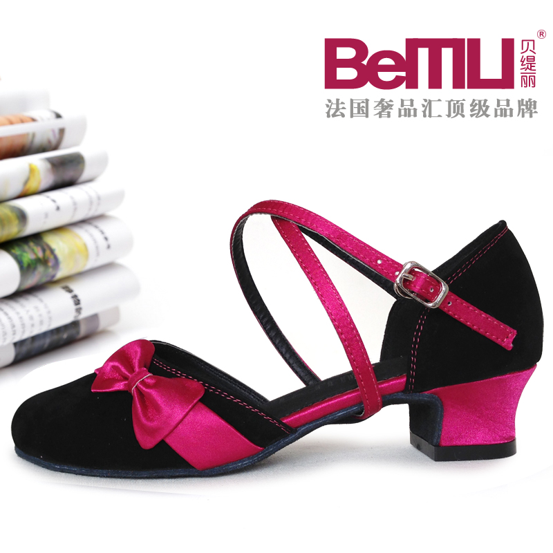 Палм-TI-Li Детская танцевальная обувь женская обувь для танцев, обувь для бальных танцев, обувь для бальных танцев для детей мягкой нижней обувь для танцев