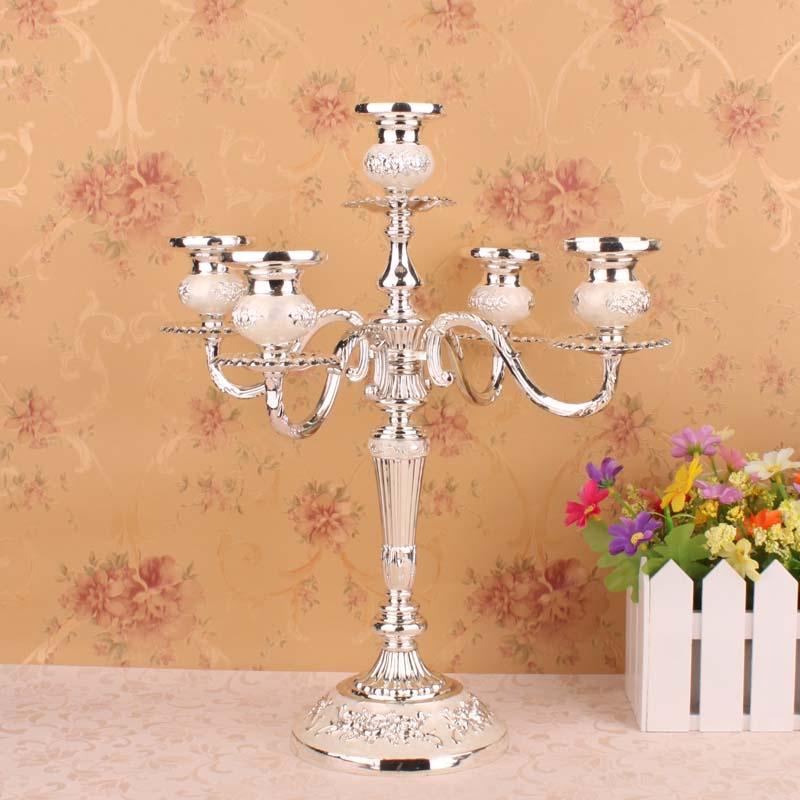 Домашнее украшение свеча свечах ужин 5 континентальных держатель свадьбы свадьба Гостиницы три свечи Держатели для свечи