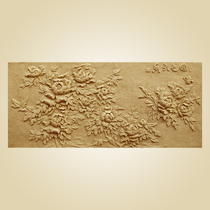 Artificial sandstone relief Mural sandstone three-dimensional relief Xuan Guan walkway mural sand sculpture National Flavor mural