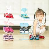 宝宝鞋架卡通动物立体儿童鞋架 落地式鞋子收纳 可爱小孩生日礼物