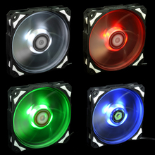 ID - 12 cm computer case led lamp COOLING fan is 12 cm white/red/green/blue a COOLING fan