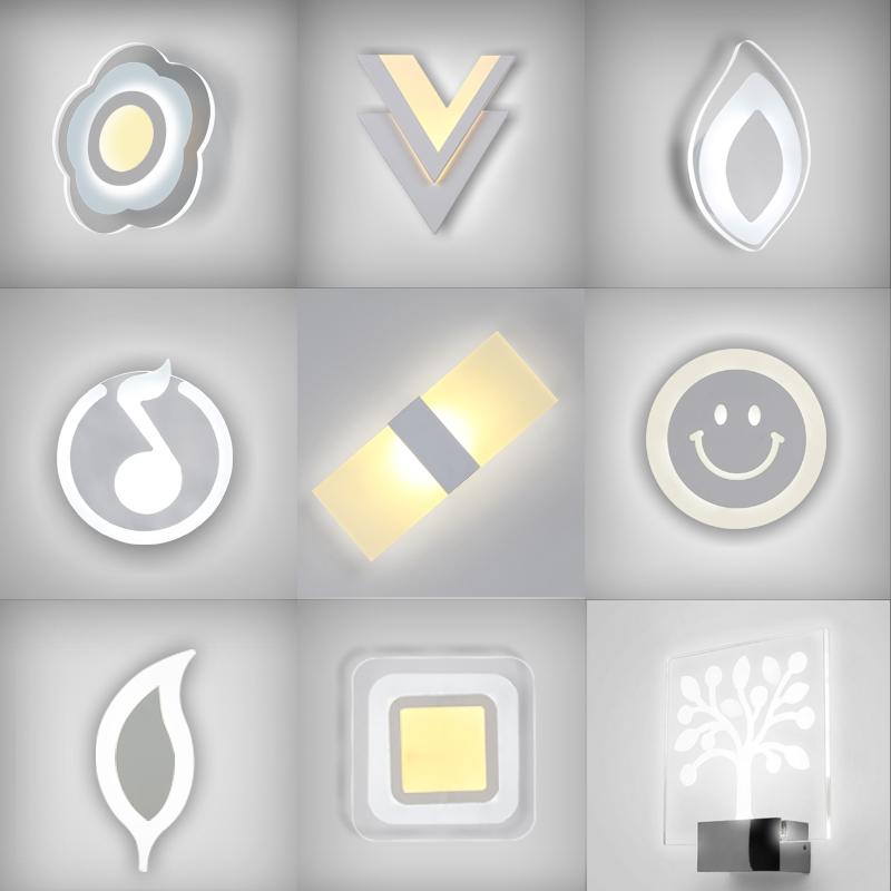 臥室床頭燈LED壁燈簡約 客廳陽台過道牆壁燈酒店工程燈具