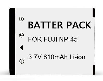 富士mini90相机充电电池 NP-45A锂电池 适用 拍立得mini90相机