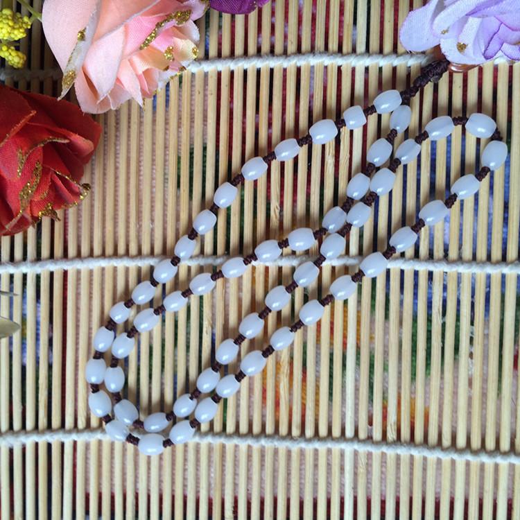 多款项链圆珠链情侣流行首饰未镶嵌玛瑙时尚饰品新新鲜出炉
