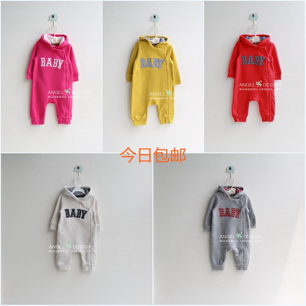 Подпружиненный пакет электронной почты из baby onesies младенца новорожденных одежда Детская одежда мужчин и женщин одежда комбинезон