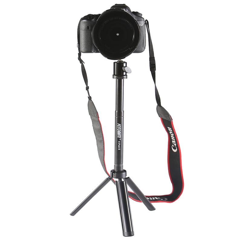 手机三脚架微单反主直播自拍照相机桌面上便携手持平板三角架