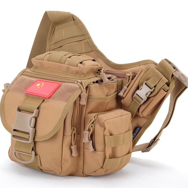 Mail bag single shoulder oblique cross bag waterproof SLR photography bag fashion outdoor tactics multifunctional large saddle bag genuine