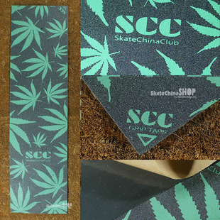 SCC double Alice skateboard green esserteauiana MOB sandpaper pores with quality wear lt SCC skateboard shop