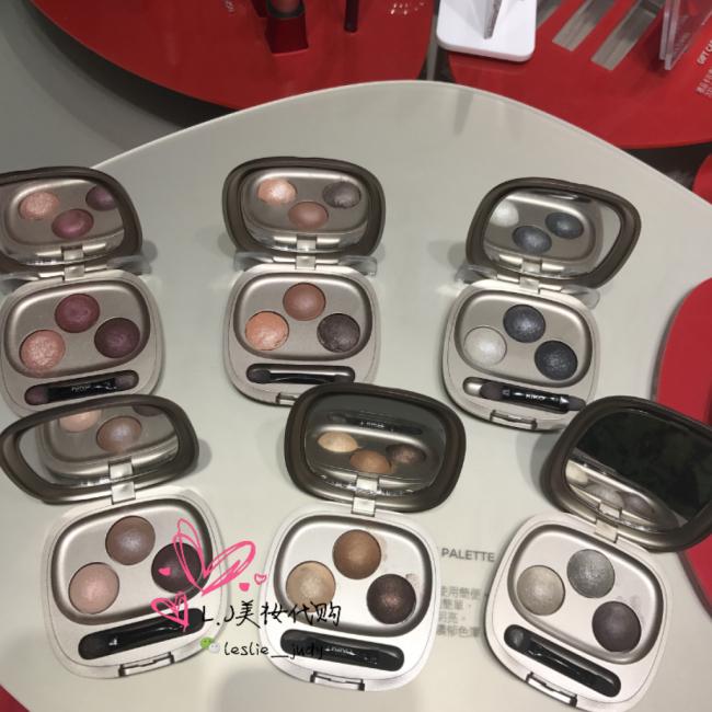 新品-意大利Kiko 三色烘焙眼影 带海绵棒 共六个色号可选