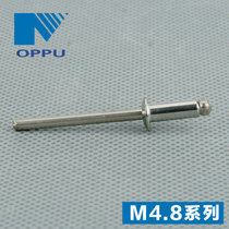 Promotional open type all 304 stainless steel flat head core rivets m4.8*8-m4.8*30