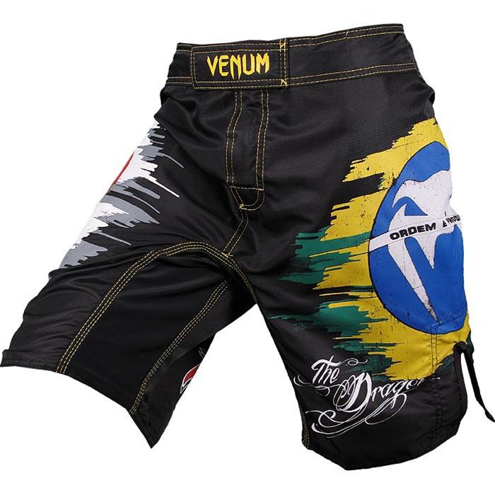 Житомир ММА UFC боев Лиото Мачида подпись шорты Молотковая Брюки смешанных боевых искусств