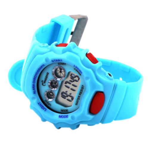Специальные акции Детские часы водонепроницаемый световой мальчик спортивные средней школы Цифровые Часы прилива несовершеннолетних мальчиков Цифровые Часы