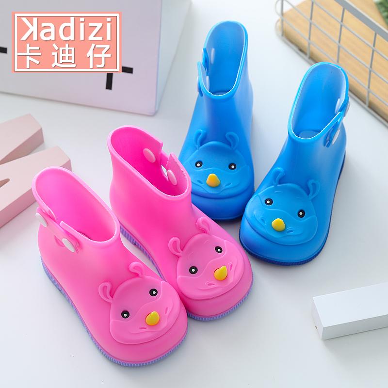 寶寶防滑1-3嬰幼兒童雨鞋小孩男童女童雨靴水鞋小童膠鞋公主可愛