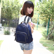 Lake of fire School of summer 2015 new Backpack backpacks Korean wave fashion canvas nylon wind leisure handbag