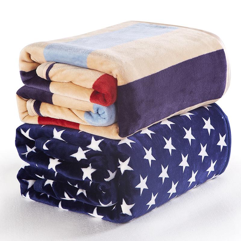 紅磨坊珊瑚絨毯子被套單人床單被宿舍學生毛毯毛巾被空調毯