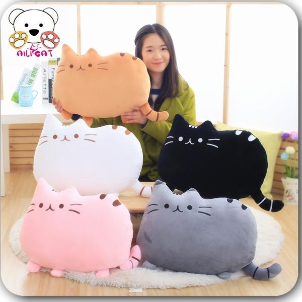 大号喵星人猫咪靠垫抱枕 创意猫猫毛绒玩具公仔玩偶圣诞节礼物女
