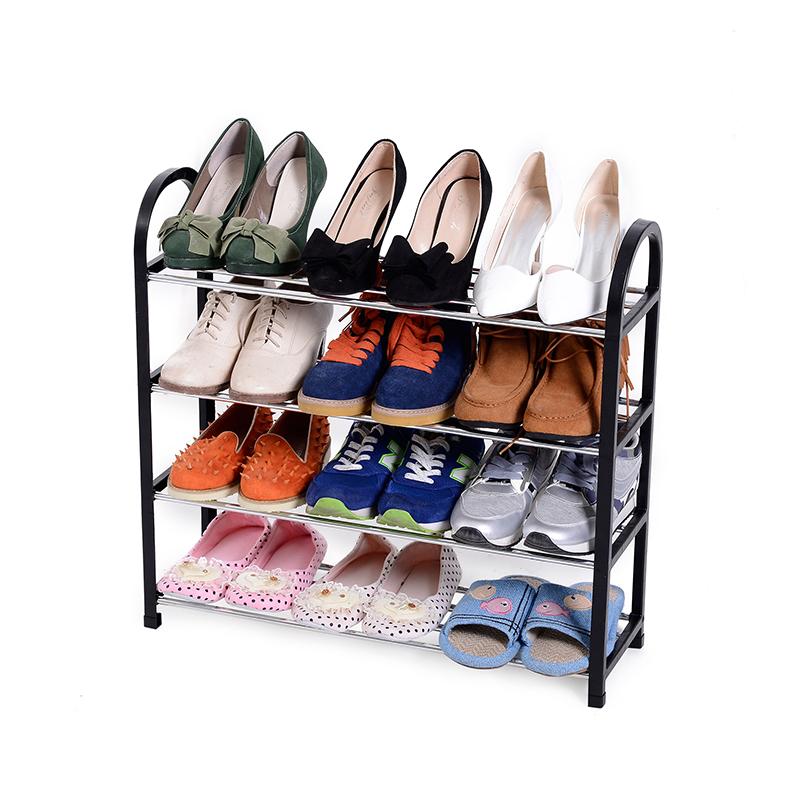 Три и четыре пять легко комната с несколькими кроватями обувная полка сын большой студент сон комната хранение обувной пластик полка обувной многослойный экономического типа домой