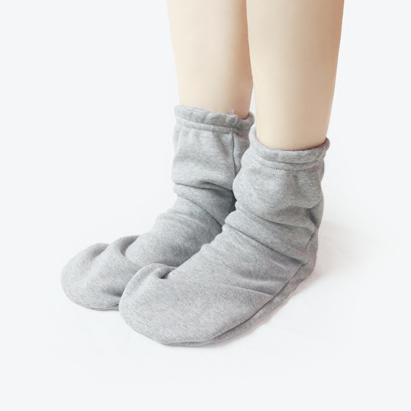 Sleeping socks childrens sleeping socks summer air conditioning room loose pure cotton Plush foot protective socks for men and women