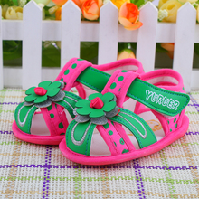 Baby sandals Children infants buckles male and female baby toddler shoes, sandals Young children toddler shoes
