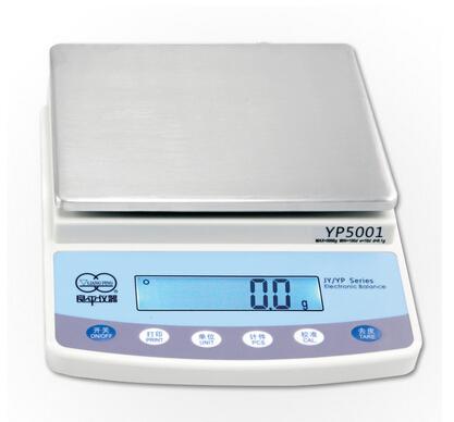 上海良平 YP3001电子天平3000g/0.1g十分之一3kg/实验室电子称