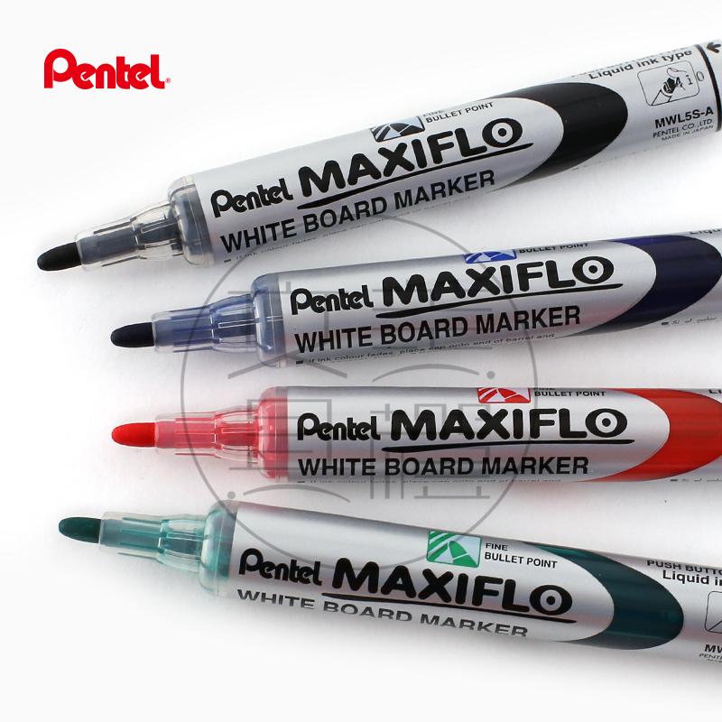 Япония pentel пирог через  MWL5S гидравлическое давление стиль хорошо глава электронный белая доска карандаш