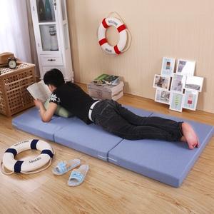 可折叠打地铺办公室午休垫单人午睡学生宿舍0.9m榻榻米海绵床垫子