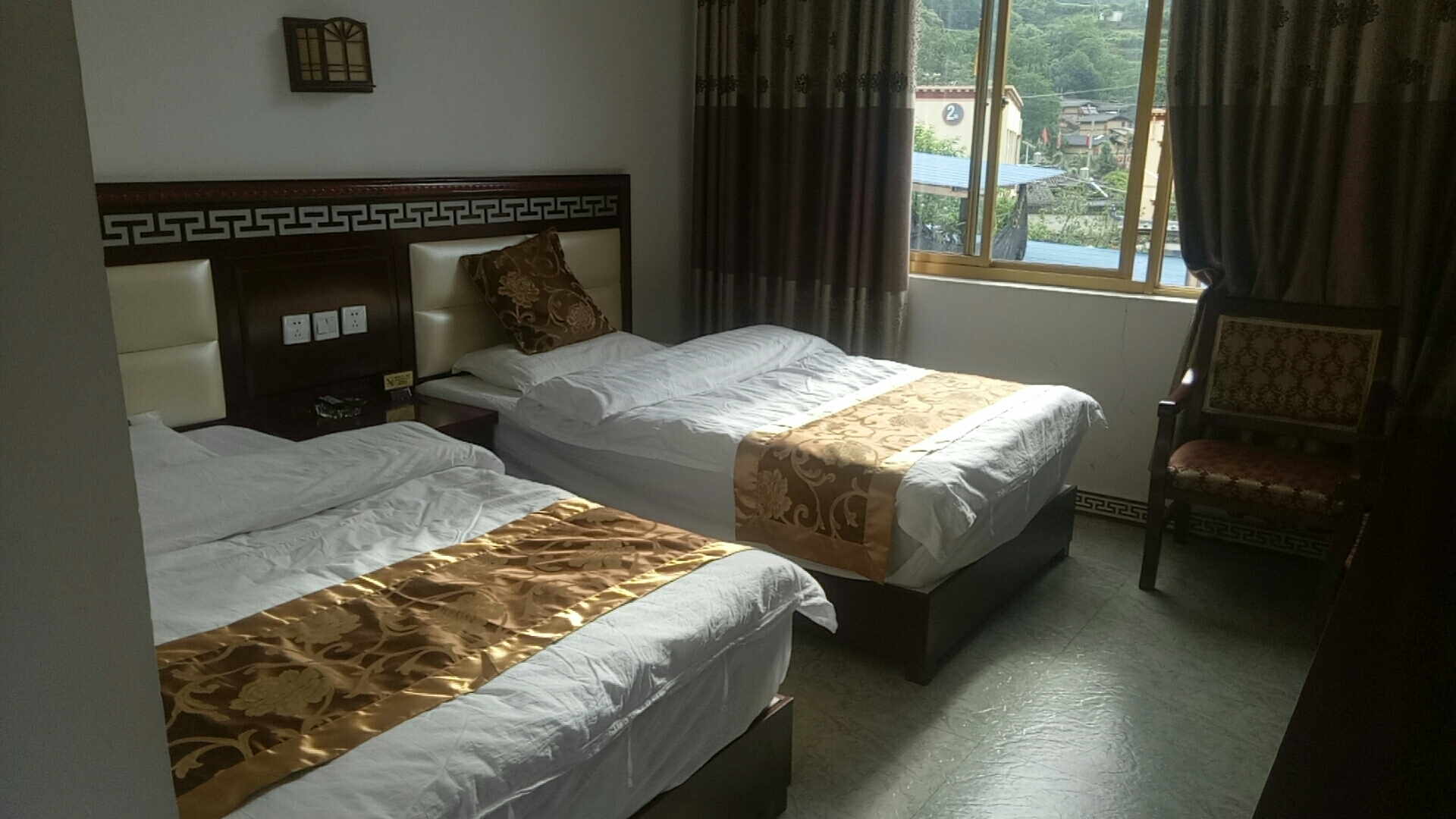 Sun twin room of samago Hotel