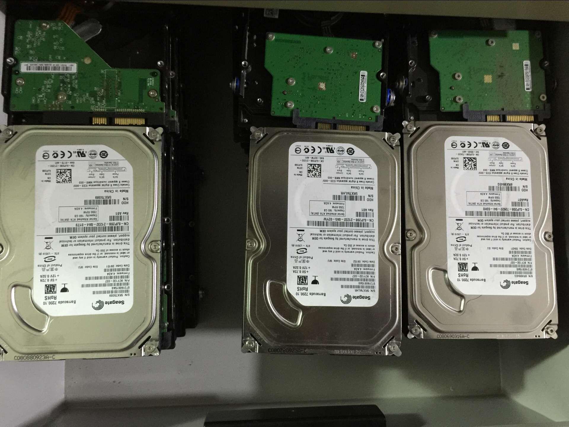 二手80G160G250G320G500G SATA串口 台式机硬盘WD/西数希捷迈拓等