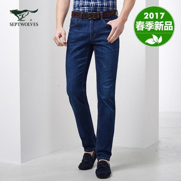 2017年春季款 七匹狼 男士牛仔裤 优惠券折后¥169包邮(¥ 219-50)