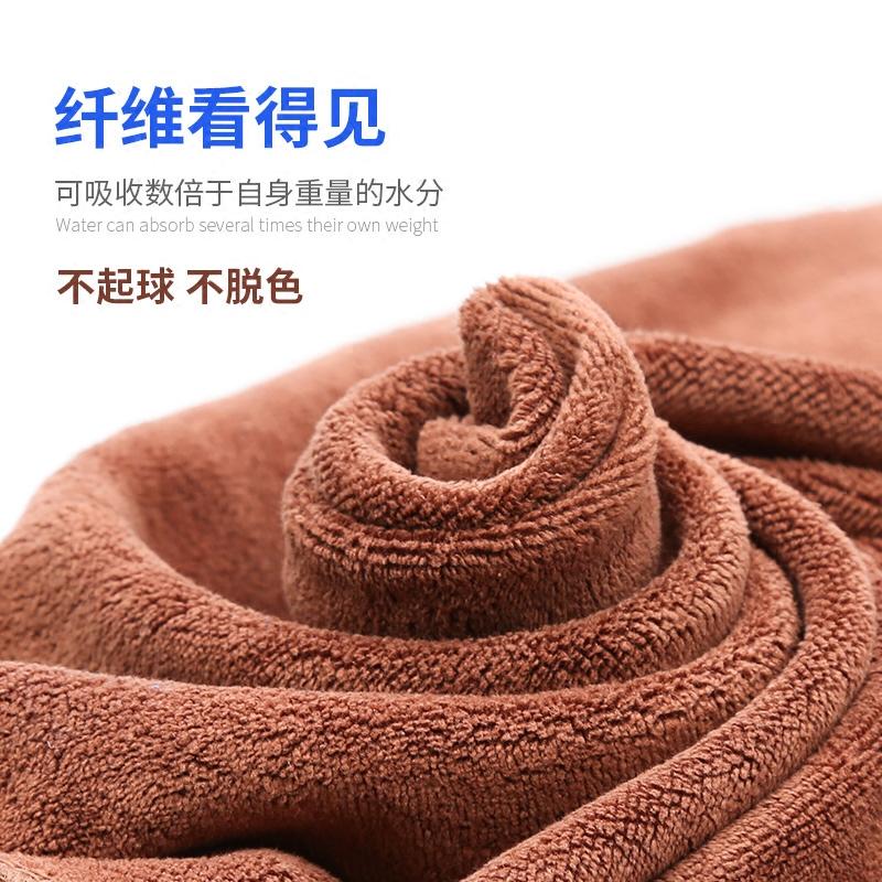 洗車加厚毛巾超細纖維不掉毛大號吸水玻璃擦車巾抹布汽車清潔用品
