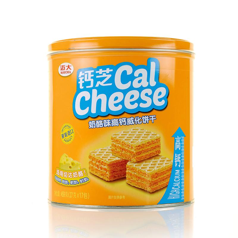 ~天貓超市~Calcheese 鈣芝印尼 奶酪味高鈣威化餅幹459g