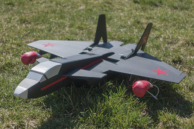 航模 固定翼 ft系列 KT板飞机 魔术板 迷你矢量飞机 空机Vector