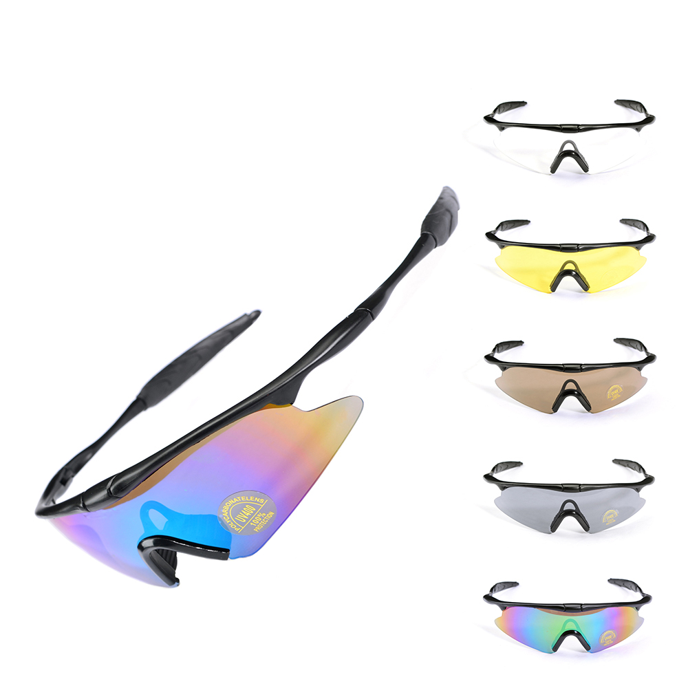 Наружная K100CS стрельба защитный глазной ветер зеркало Защита глаз зеркало Ветер и песок Езда на велосипеде Альпинизм зеркало
