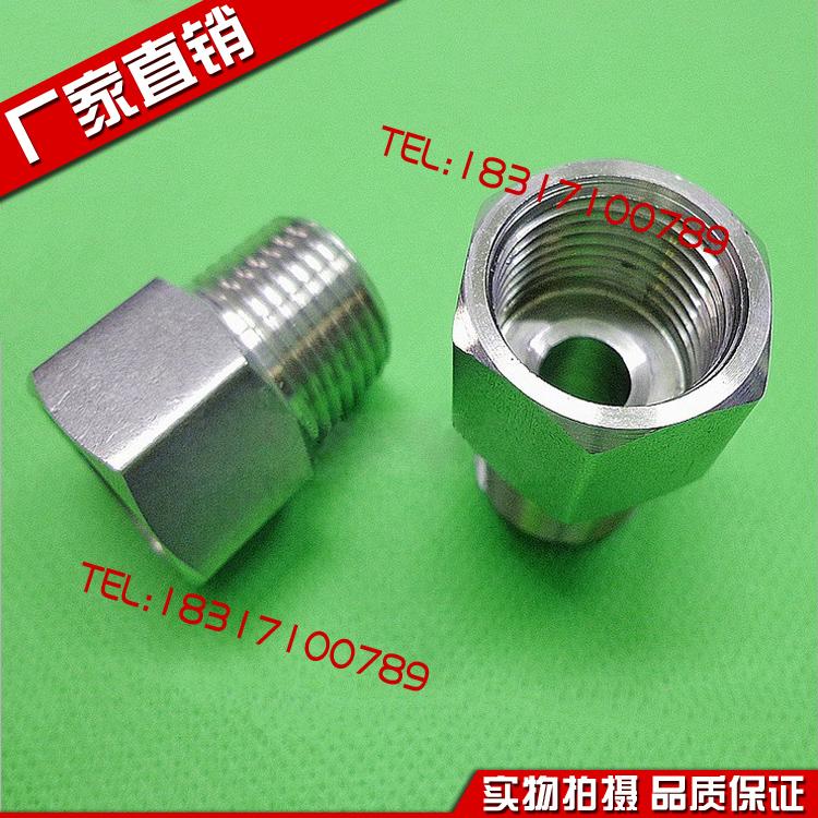 304 нержавеющей стали манометр соединитель правила поведения изменение сокращение M14*1.5 M20*1.5 1/4 3/8 1/2