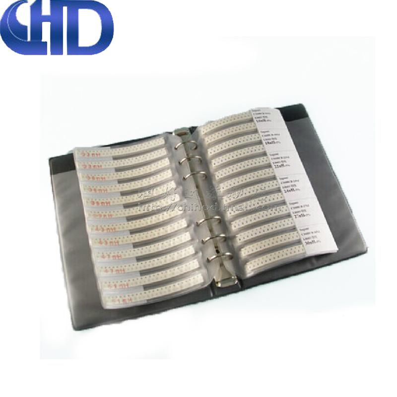 国巨 0402贴片电阻包 精度1% 170种共8500个 电阻样品本 元件包B