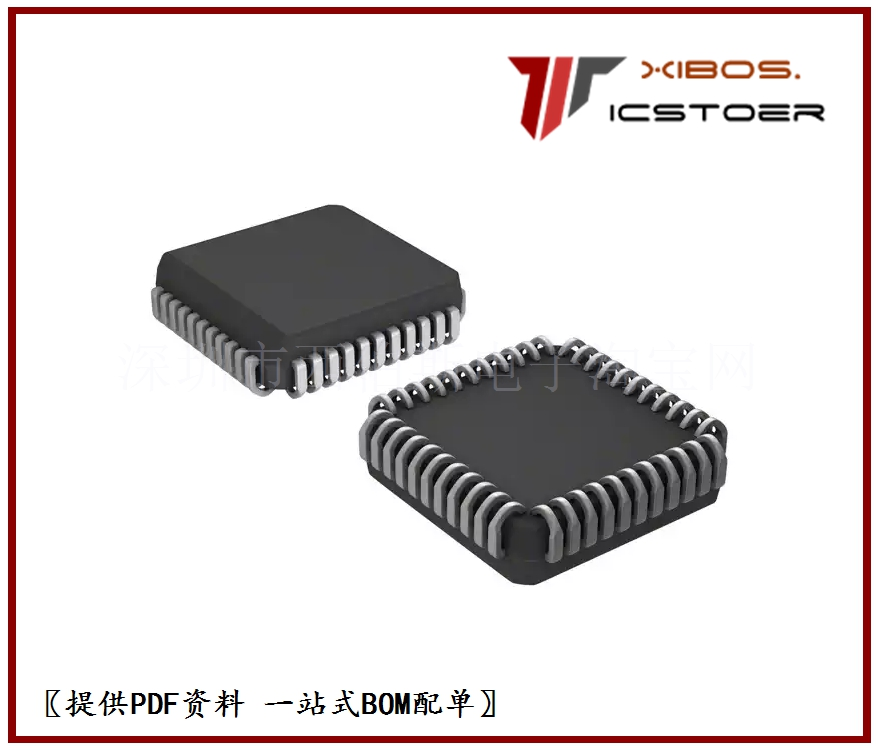 IC P89V660FA,512 80C51 MCU FLASH 16K 44-PLCC P89V660FA 8