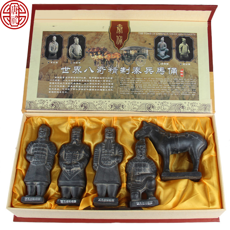 Рисунки захоронения тяни ритуальные ратников и ремесленничества лошадей суспендируют национальные таможни присытствыющие в подарок Иноплеменник идет зарубежом малый сувенир Xi'an подарка