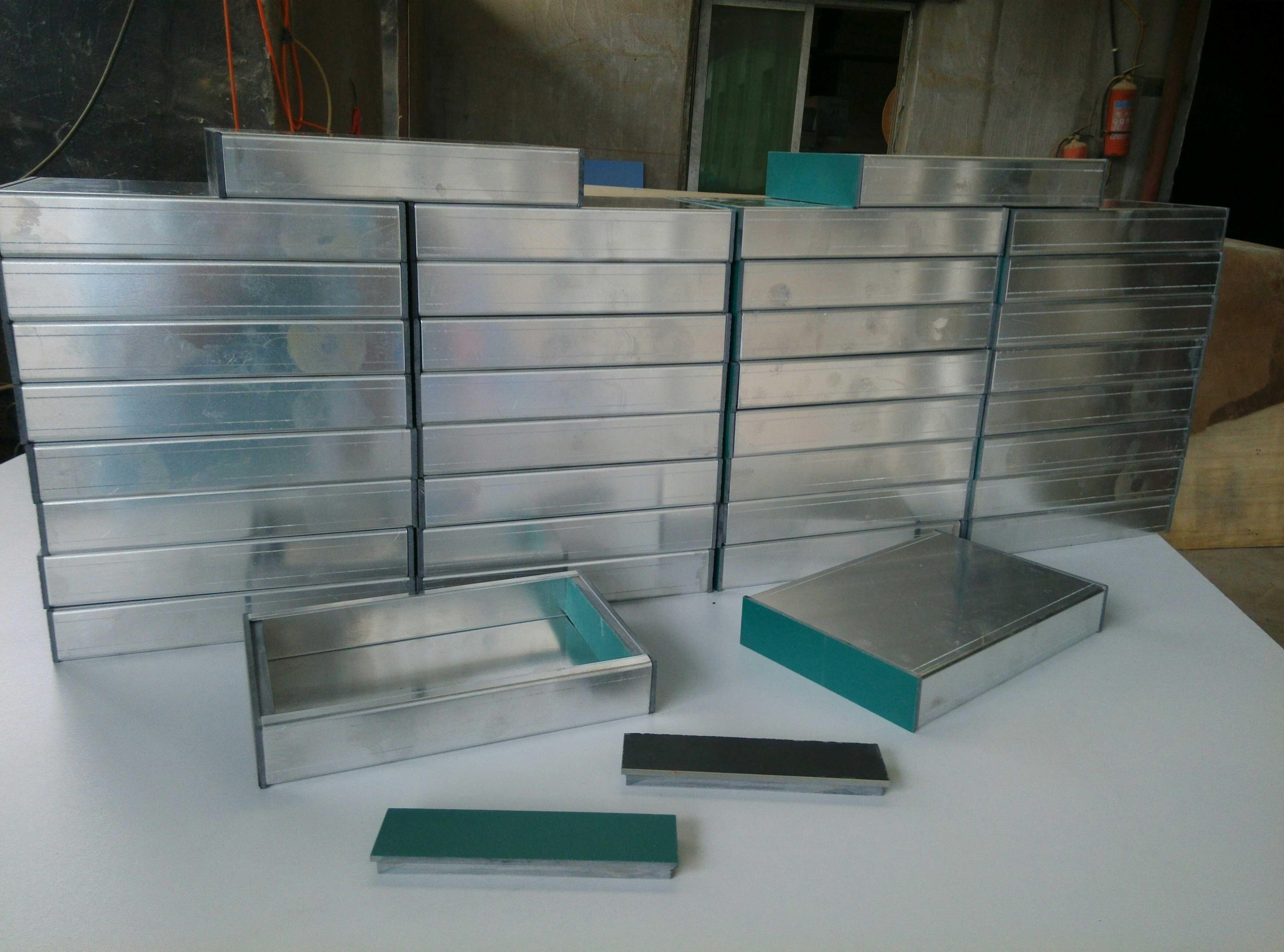 Трубка усилителя шасси, шасси желчь 6P 1 + реальности основные физики и химии 2 мм толщиной алюминиевой пластине (боковые стенки)