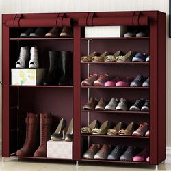 鞋架子家用经济型省空间多层宿舍防尘收纳简易门口放室内好看鞋柜
