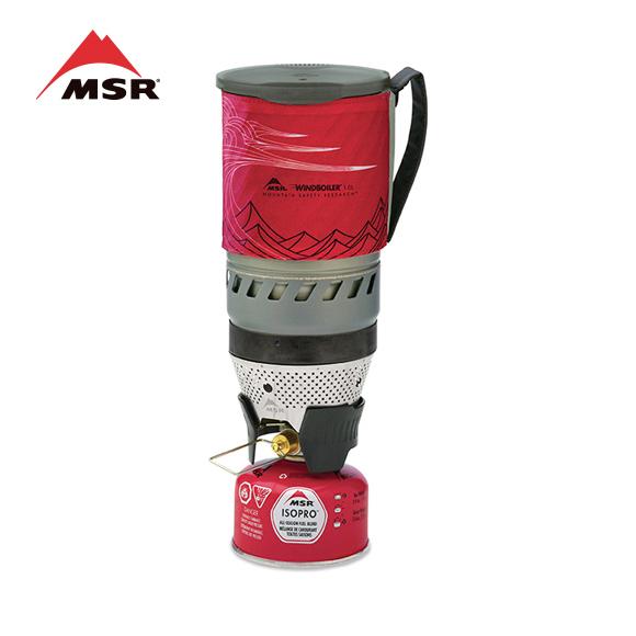 MSR WindBurner 1.0L System,Red 风神个人炉具系统09219