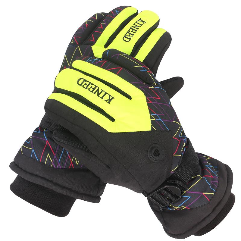 滑雪手套戶外防寒保暖防水男女騎行裝備全指加厚防滑耐磨防風