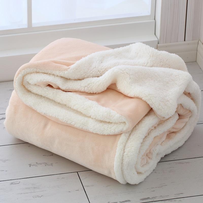 珊瑚絨毛毯加厚法蘭絨辦公室午睡小毯子宿舍床單單件雙人蓋毯