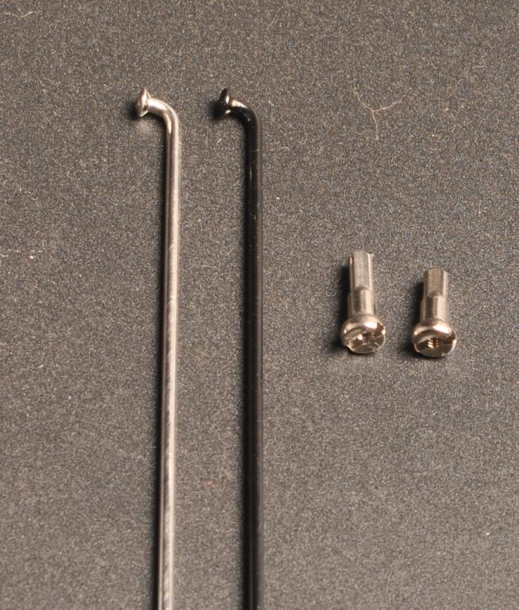 Тайвань в южная говорил CNSPOKE 2.0mm нержавеющей стали черный говорил 70-295mm полная длина степень