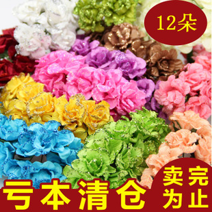 2cm small simulation hibiscus flower rose paper diy creative handmade finished fake garland material wholesale candy box accessories