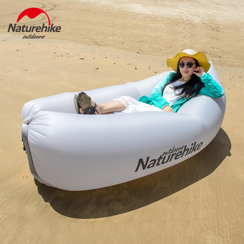 NH карман диван портативный газированный диван мешок газированный спальный мешок бездельник диван воздух шезлонг NH17T008-S