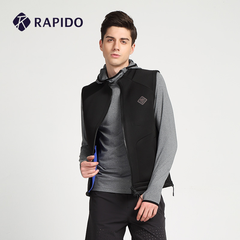 Rapido счетчики в том же моделье новая весна мужской ученый уютный воздушный слой спортивный досуг жилет CN6139J04