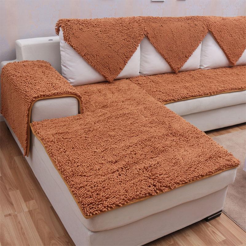 Аутентичные настроить шифрование синель подушки скольжения кожаный диван подушка плюшевым диваном подушки эркер подушки дивана набор
