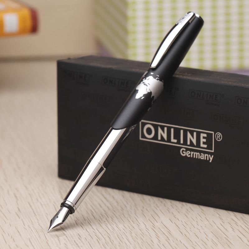 九点半德国ONLINE正品World Pen男士练字钢笔 商务铱金笔礼品文具
