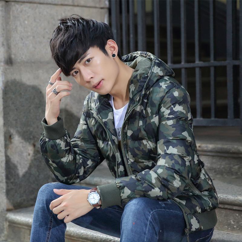MY899棉衣男冬天外套男加厚青年潮 學生棉服修身短款男士棉襖