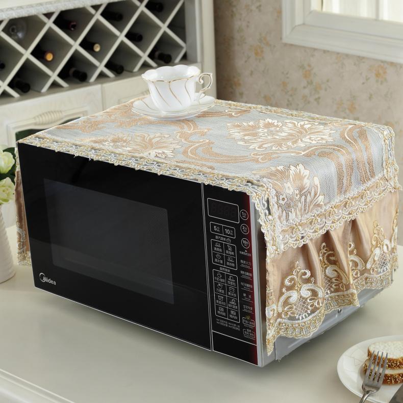 格蘭仕微波爐罩 防塵罩美的微波爐罩子防油蓋烤箱罩微波爐套蓋巾